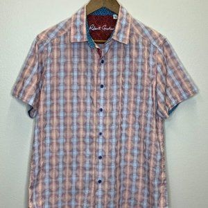 Robert Graham Polo Golf Shirt Size SM
